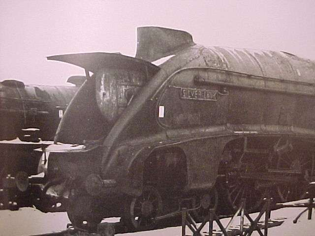 Home page doncaster works winter dec1962 out in the cold the first a4 to be built and the first to be withdrawn 60014 silver link she might have been preserved if publicscrutiny Choice Image