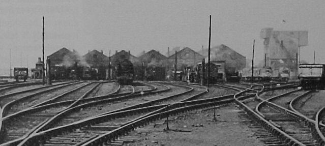 Kingmoor Shed 1960s Which Had Five Peak Roofs With No Six
